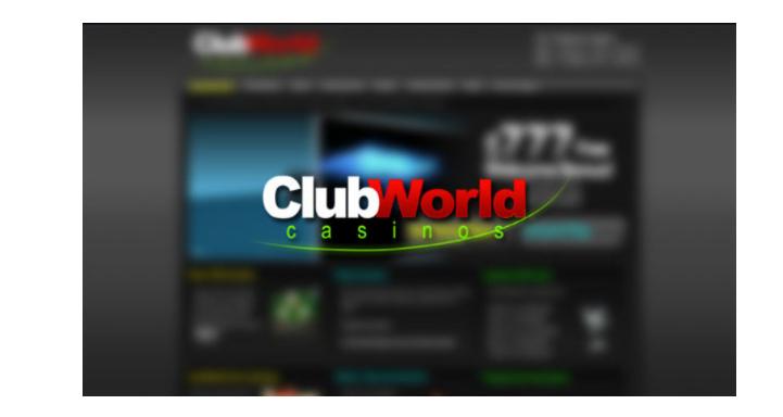 Club World Casino Verification Form